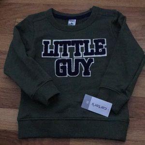 Carters little guy long sleeve sweatshirt